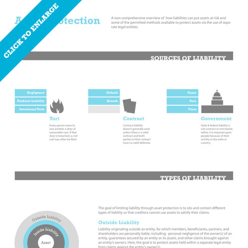 Asset Protection Overview Inforgraphic
